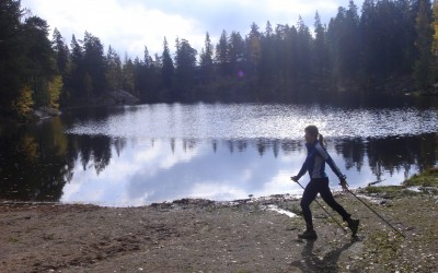 Nòrdic Walking.