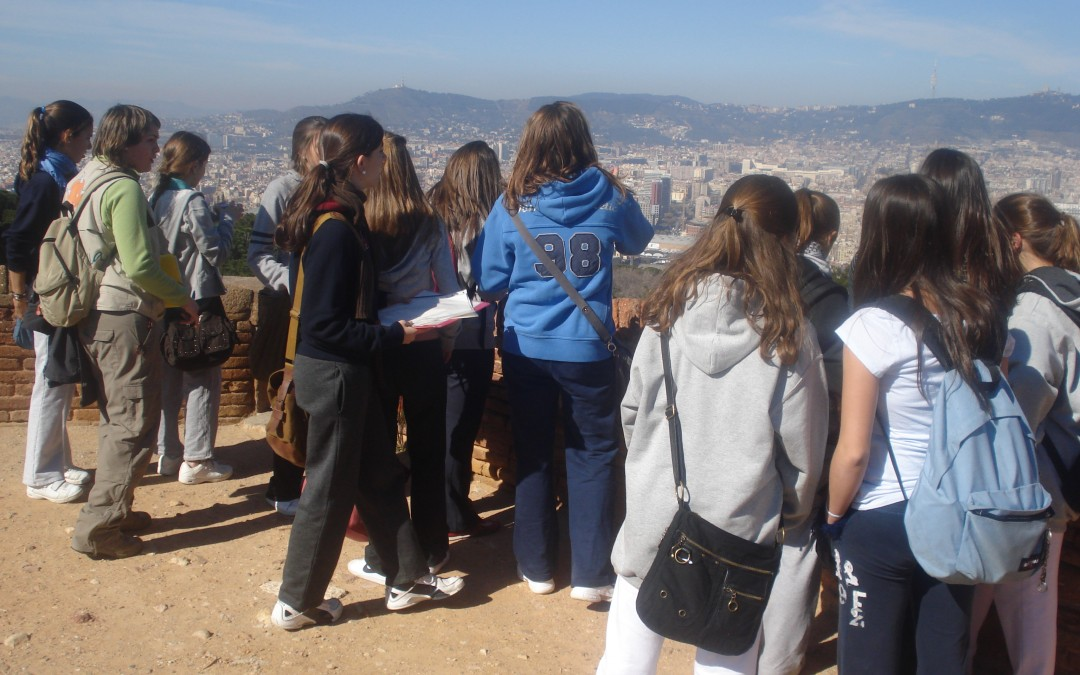 Barcelona a vista d'ocell.