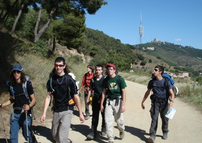 Obrint Via_Senderisme_Parc de Collserola_3_Barcelona